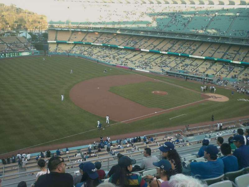 Seating view for Dodger Stadium Section 31rs Row J Seat 21