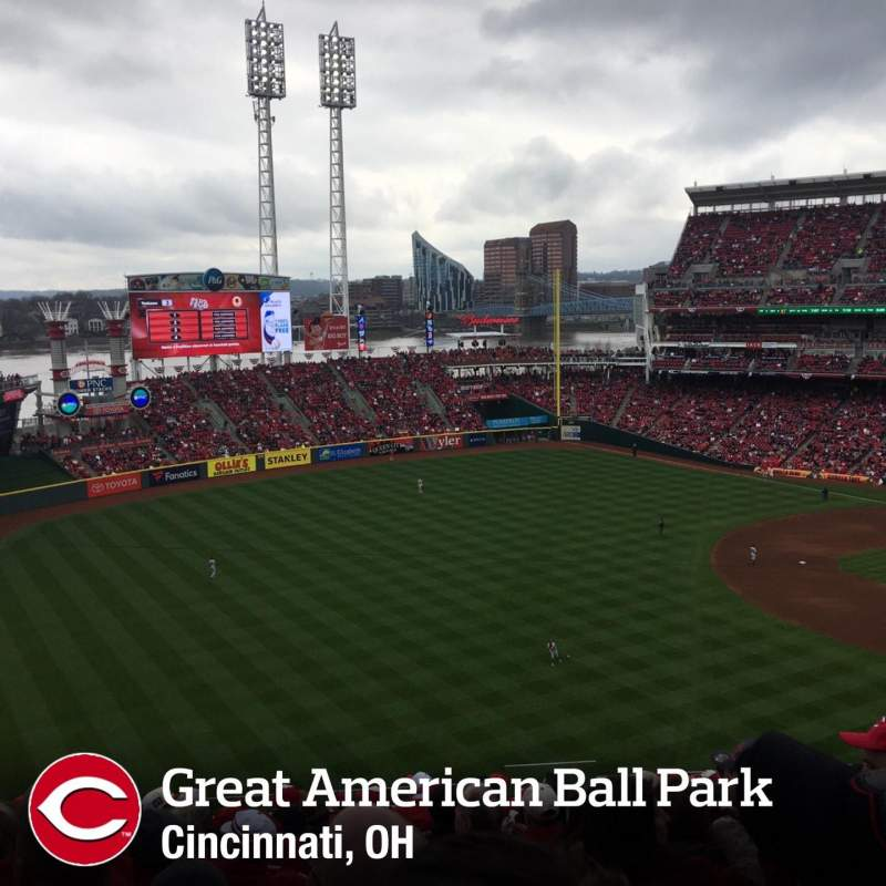 Seating view for Great American Ball Park Section 111 Row O Seat 4