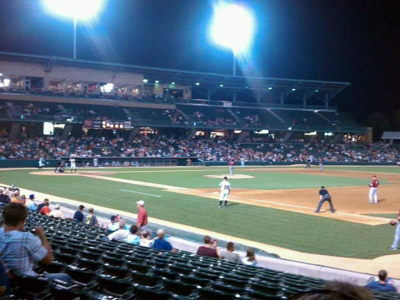 Seating view for Victory Field Section 117 Row P Seat 3