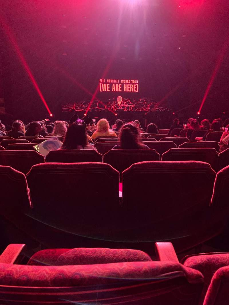 Seating view for Fox Theatre (Atlanta) Section Orchestra LC Row L Seat 57