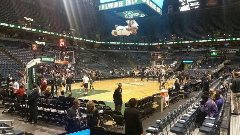 Seating view for BMO Harris Bradley Center Section 204 Row B Seat 12