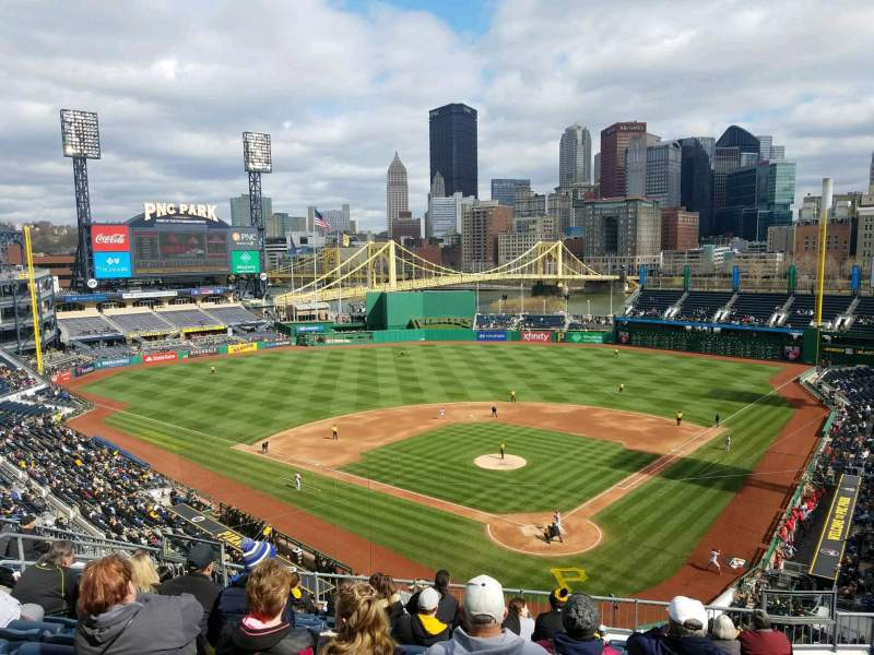 Seating view for PNC Park Section 217 Row K Seat 10