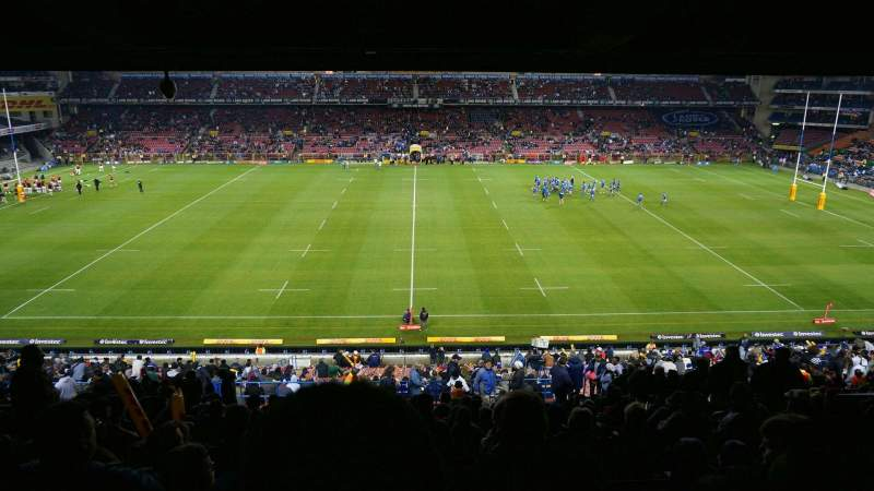 Seating view for Newlands Rugby Stadium Section Railway Level 2 Row S Seat 147