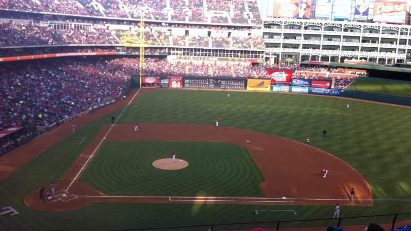 Seating view for Globe Life Park in Arlington Section 232 Row 9 Seat 4