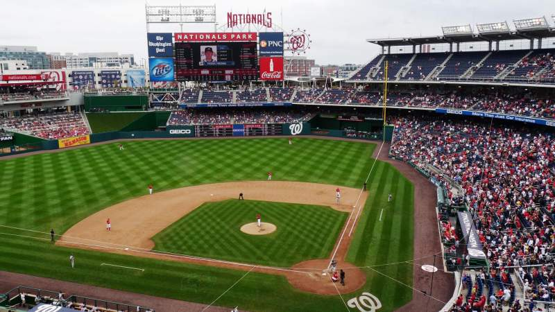 Seating view for Nationals Park Section 311 Row C Seat 3