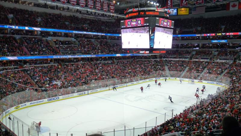 Seating view for Verizon Center Section 225 Row D