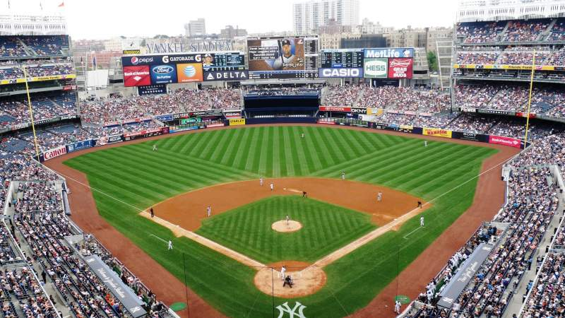 Seating view for Yankee Stadium Section 420B Row 2