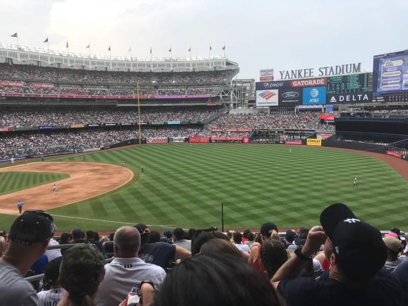 Yankee Stadium, section: 211, row: 13, seat: 20