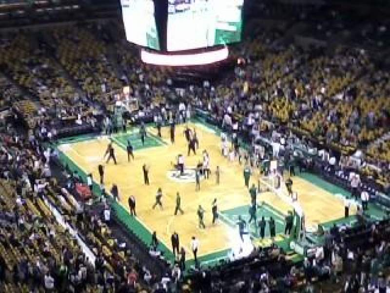 Seating view for TD Garden Section Bal 311 Row 11 Seat 9