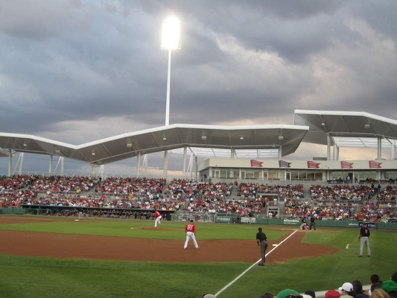 Seating view for JetBlue Park Section 116 Row 9 Seat 9