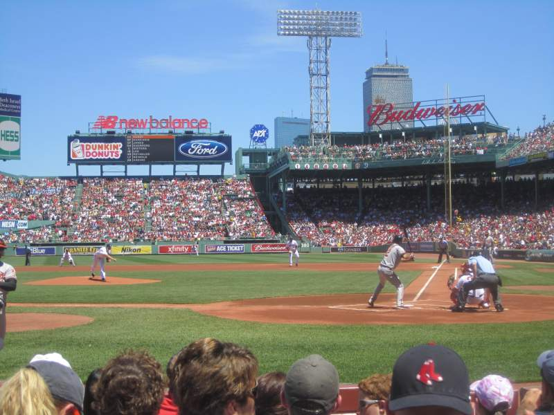Seating view for Fenway Park Section 24-FB1 Row E Seat 1