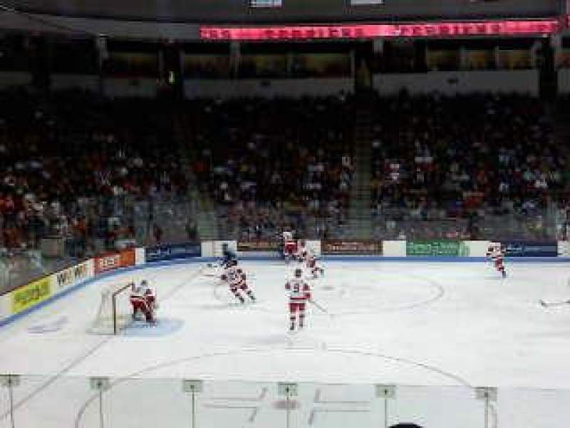 Agganis Arena, section: 104, row: K, seat: 22
