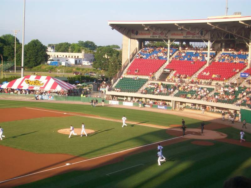 Seating view for McCoy Stadium Section General Admission