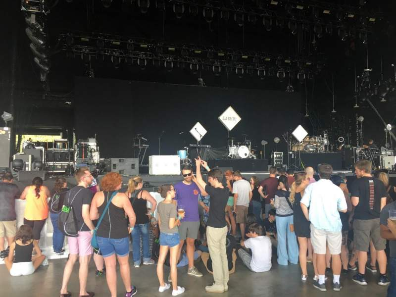 Seating view for PNC Music Pavilion Section 2 Row J Seat 32
