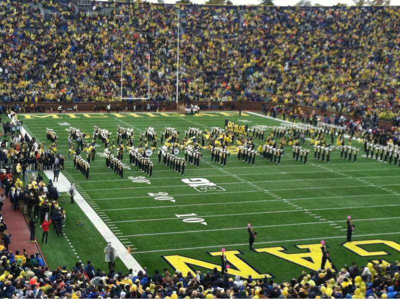 Seating view for Michigan Stadium Section 37 Row 61 Seat 27