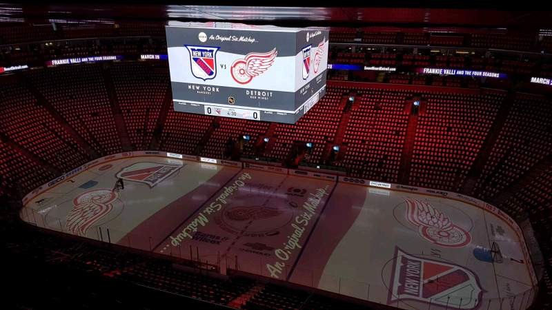Seating view for Little Caesars Arena Section 210 Row 7 Seat 7