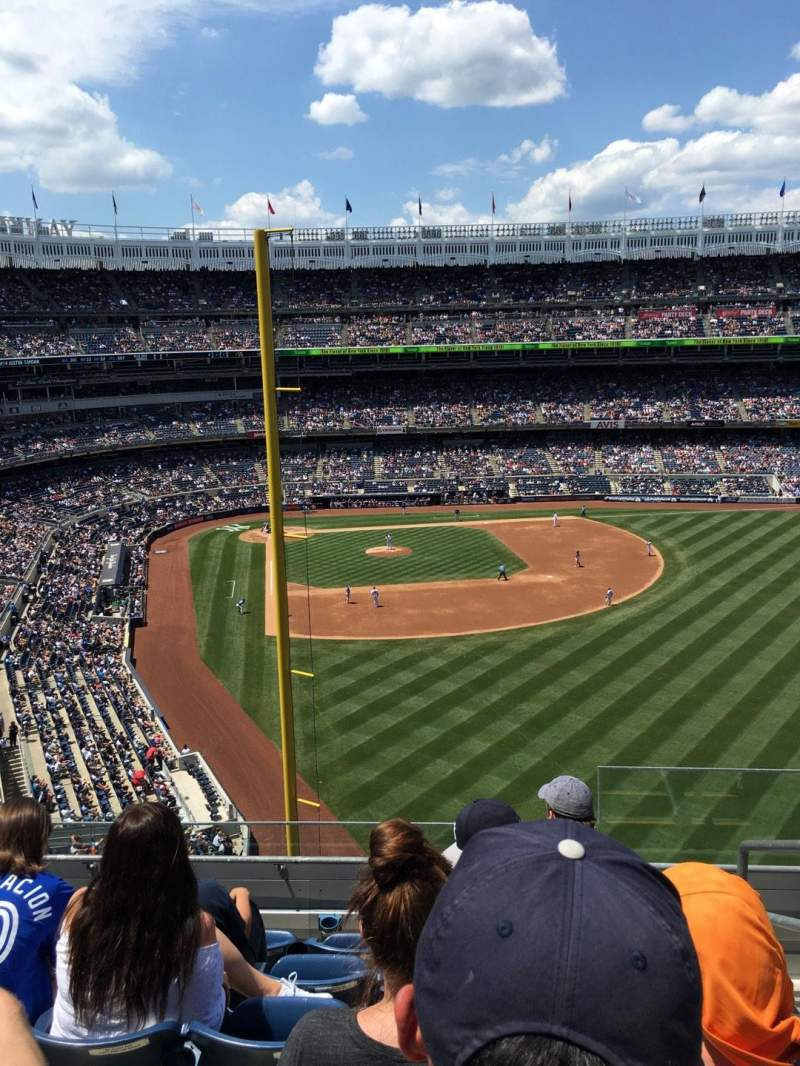 Seating view for Yankee Stadium Section 307