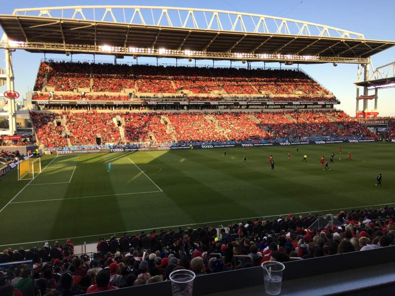 Seating view for BMO Field Section ES24 Row STL Seat 4