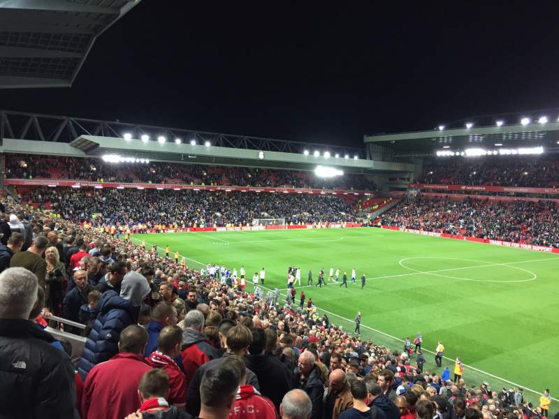 Seating view for Anfield Section L16 Row 36 Seat 0215