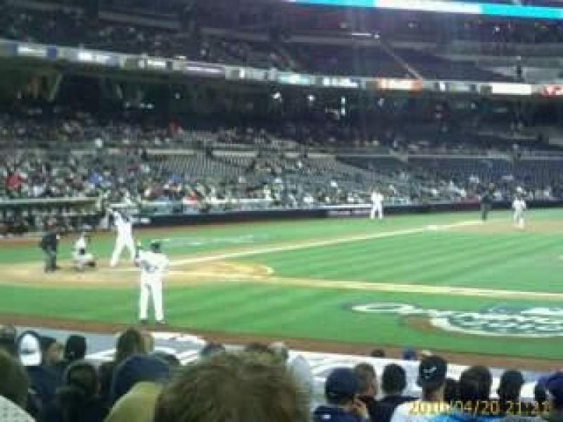 Seating view for PETCO Park Section 107 Row 19 Seat 21