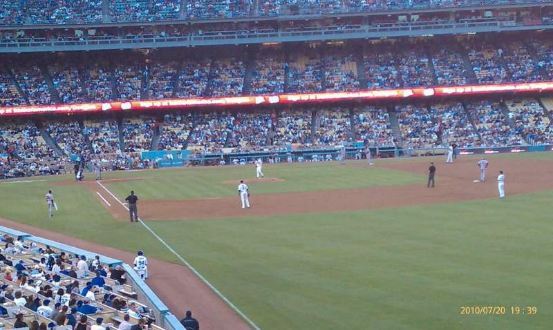 Seating view for Dodger Stadium Section 160LG