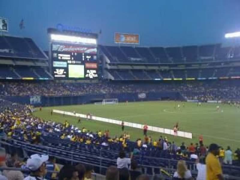 Seating view for Qualcomm Stadium