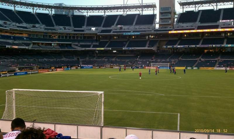 Seating view for PETCO Park Section 137 Row 4 Seat 5
