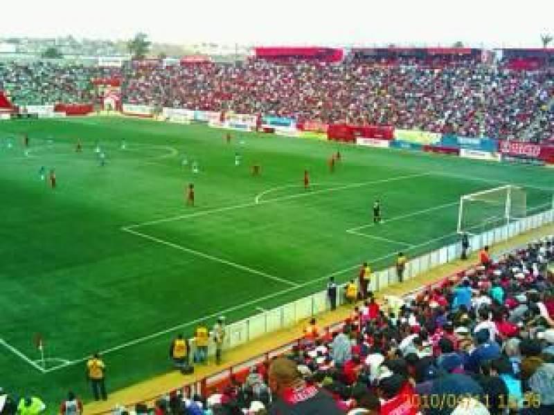 Seating view for Estadio Caliente