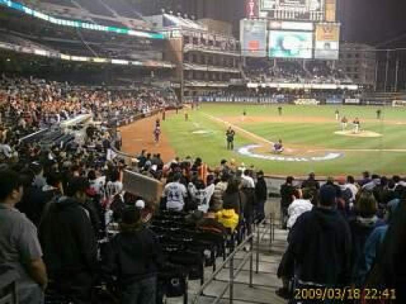 Seating view for PETCO Park Section 105