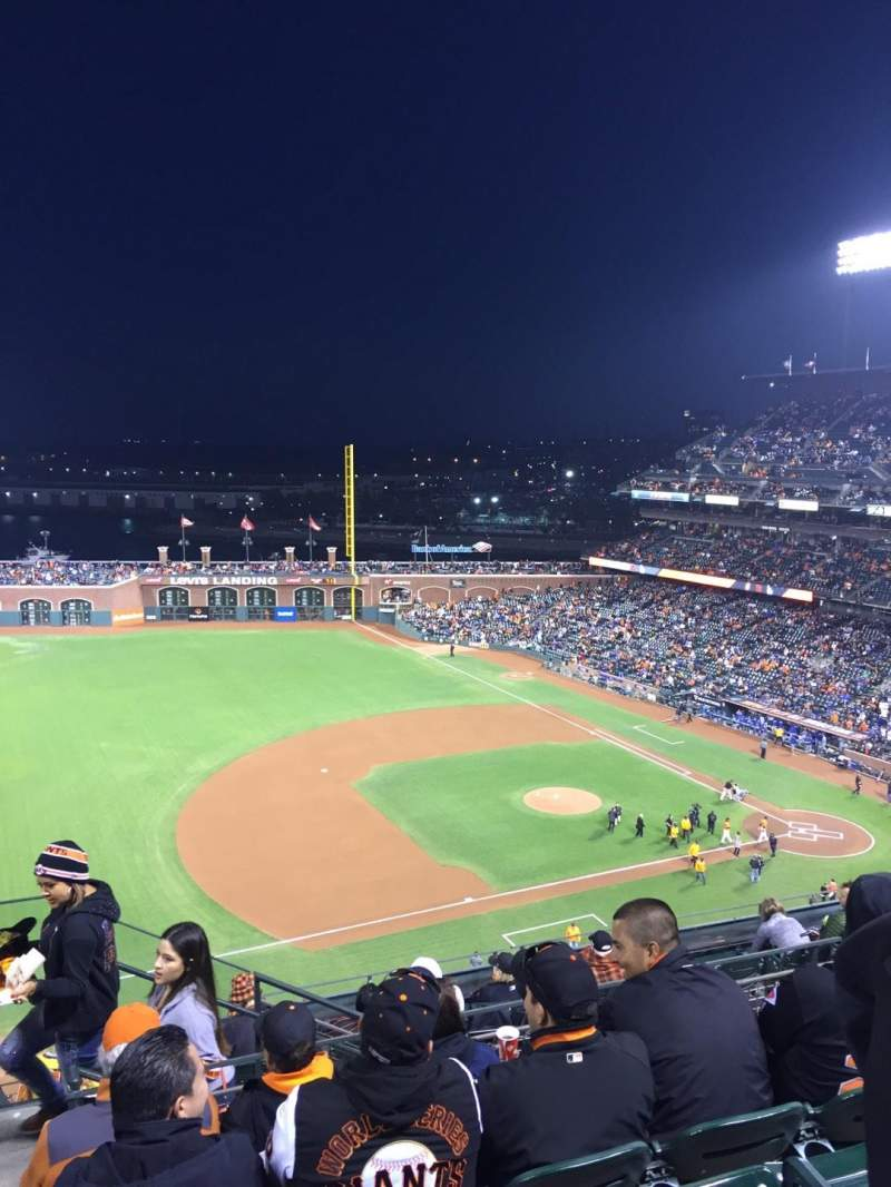 Seating view for AT&T Park Section 325 Row 5 Seat 24