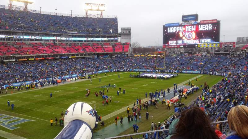 Seating view for Nissan Stadium Section 243 Row E Seat 8