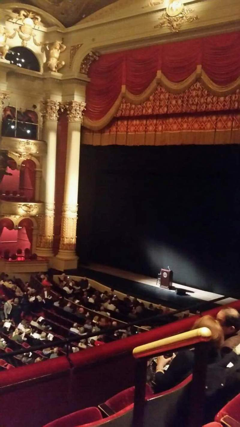 Seating view for Academy of Music Section Balcony C Row a Seat 28