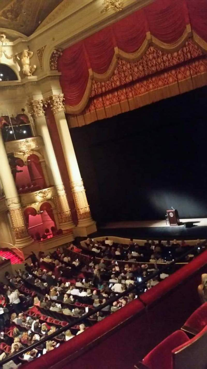 Seating view for Academy of Music Section Balcony C Row a Seat 26