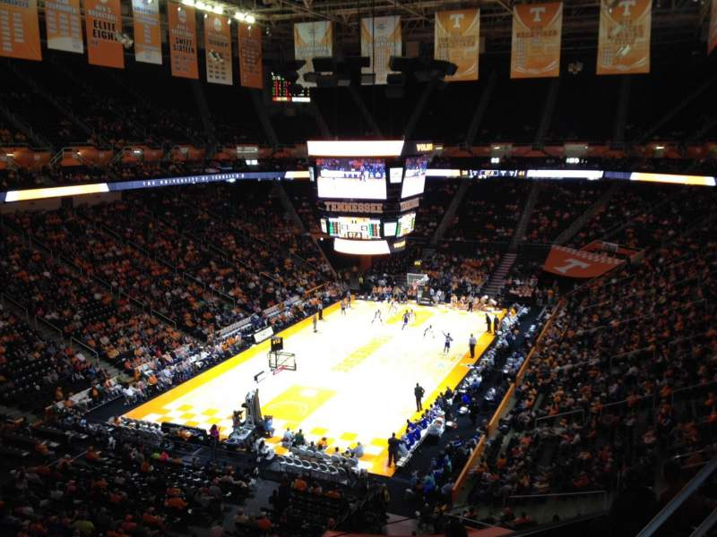 Seating view for Thompson-Boling Arena Section 311 Row 2 Seat 1