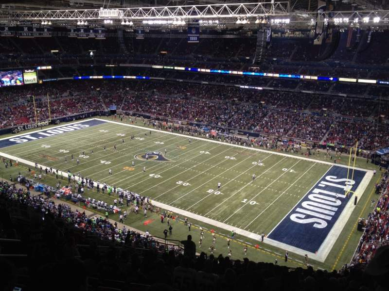 The Dome at America's Center, section: 435, row: RR, seat: 13