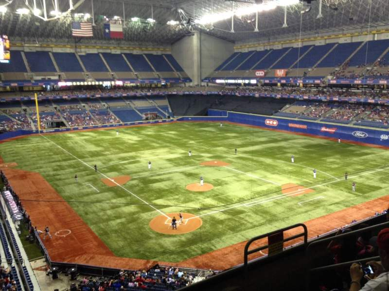 Seating view for Alamodome Section 305 Row 5 Seat 7