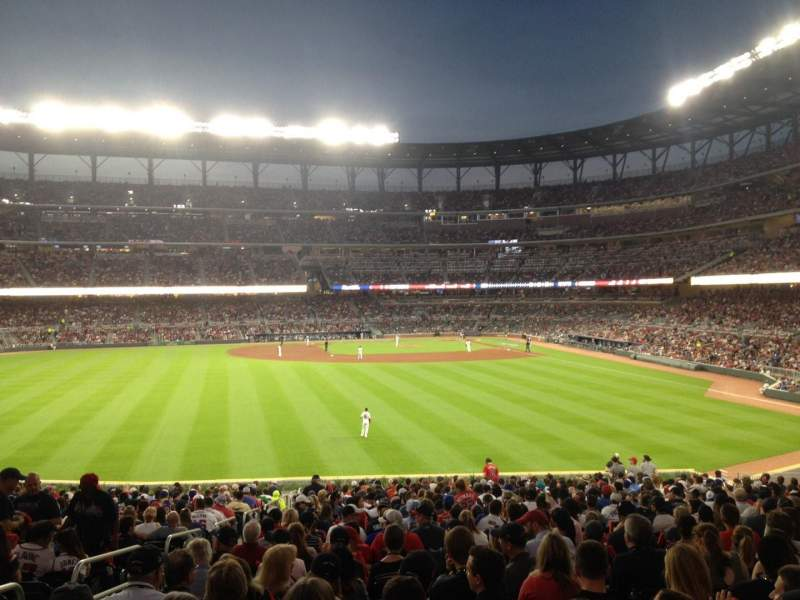 Seating view for SunTrust Park Section SRO