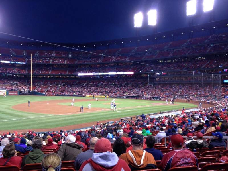 Seating view for Busch Stadium Section 161 Row 18 Seat 12