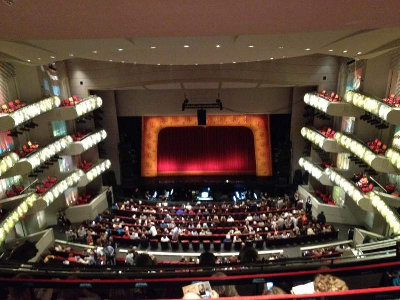 Seating view for Kauffman Center for Performing Arts Section 3 Row GZ Seat 117