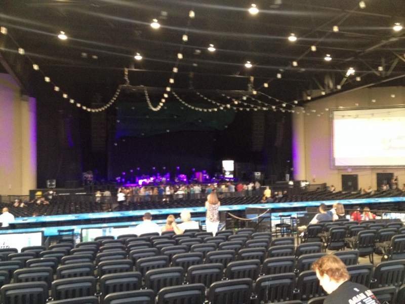 Cellairis Amphitheatre at Lakewood, section: 205, row: PP, seat: 7