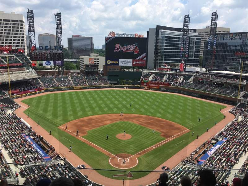 Seating view for SunTrust Park Section 426 Row 6 Seat 12