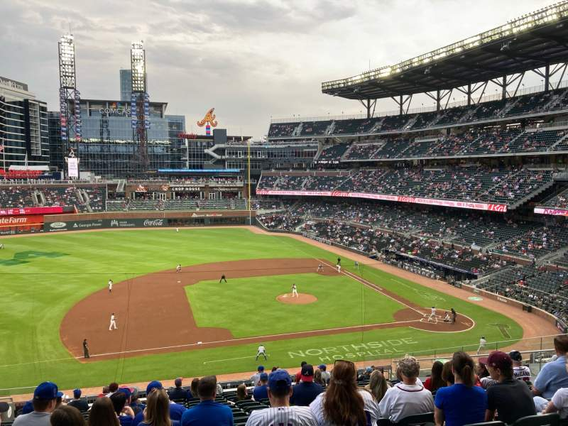 Seating view for Truist Park Section 233 Row 16 Seat 12