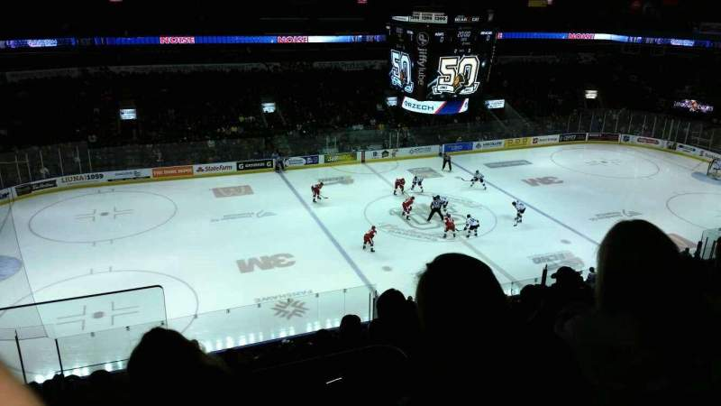 Seating view for Budweiser Gardens Section 305 Row j Seat 25