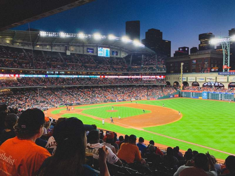Seating view for Minute Maid Park Section 230 Row 10 Seat 14