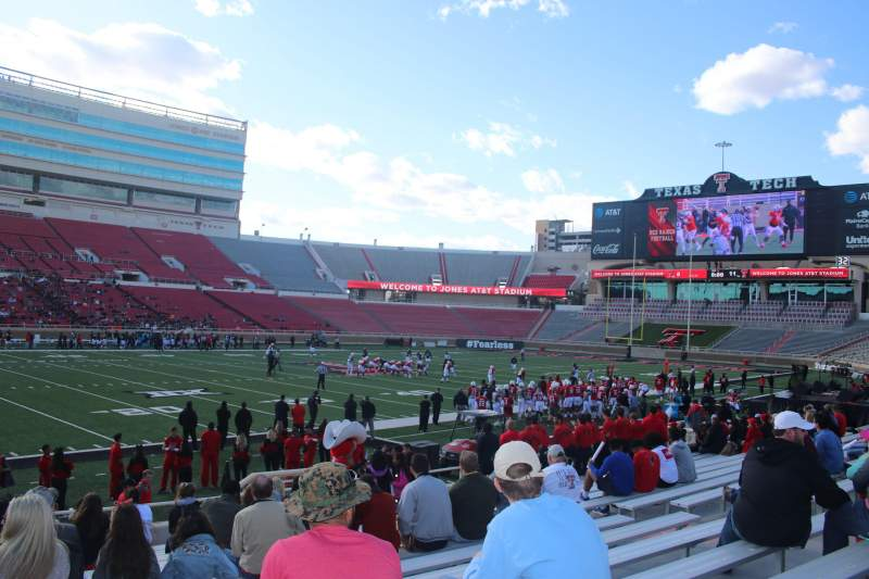 Seating view for Jones AT&T Stadium Section 23 Row 16 Seat 16