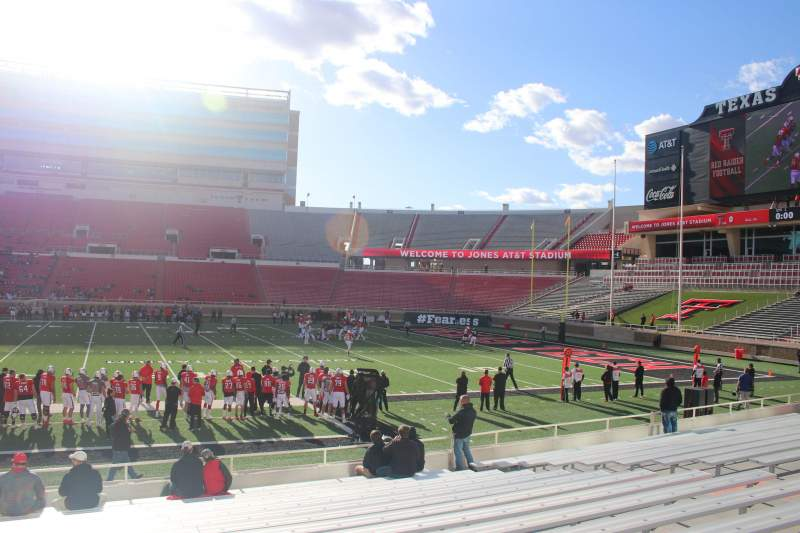 Seating view for Jones AT&T Stadium Section 18 Row 16 Seat 16