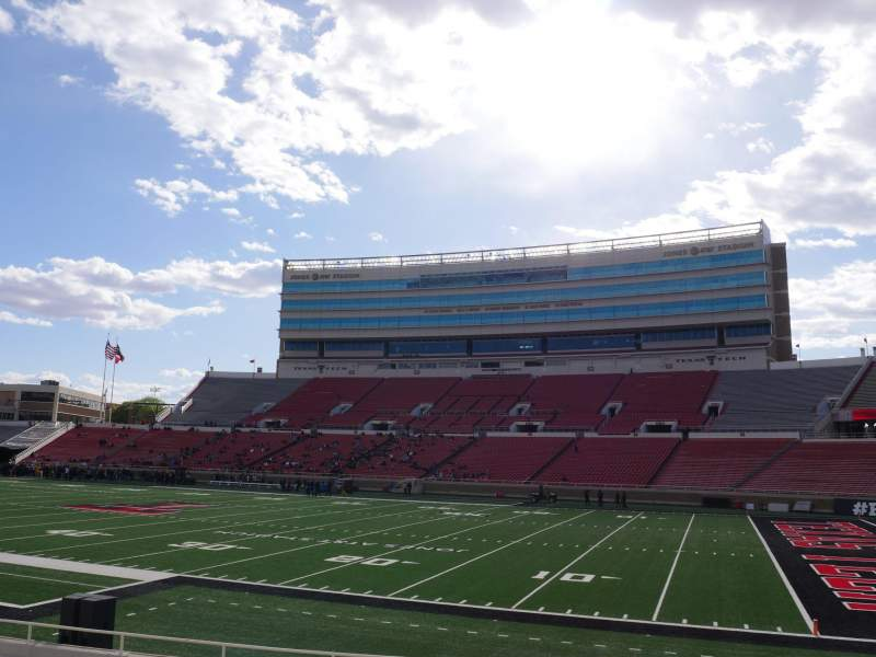 Seating view for Jones AT&T Stadium Section 16 Row 16 Seat 16