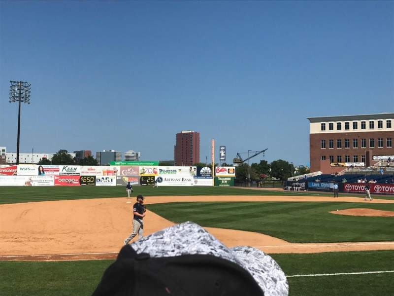 Seating view for Frawley Stadium Section 23 Row 4 Seat 1