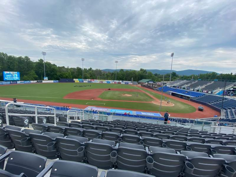 Seating view for Dutchess Stadium Section 305 Row MM Seat 6