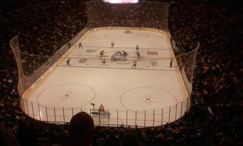 Seating view for Wells Fargo Center Section 219A Row 4 Seat 7